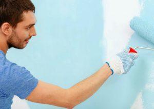 Дизайн стен фактурной краской
