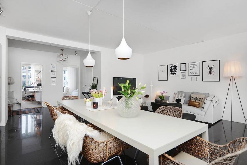 Для жилых комнат необходимо выбирать только экологически чистые краски, без примесей и резкого запаха