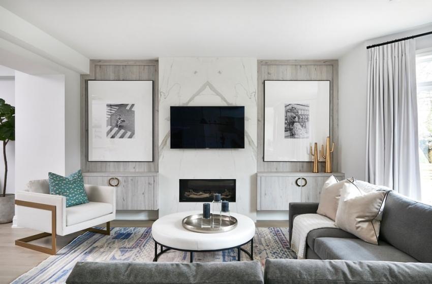 Водоэмульсионная акриловая краска является самым популярным решением при отделке стен в белый цвет