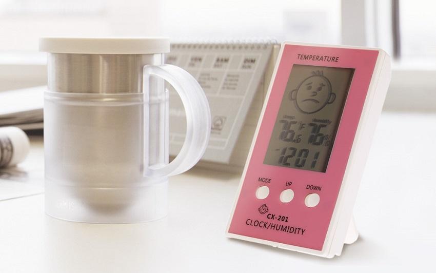 Современный дизайн прибора для измерения влажности воздуха