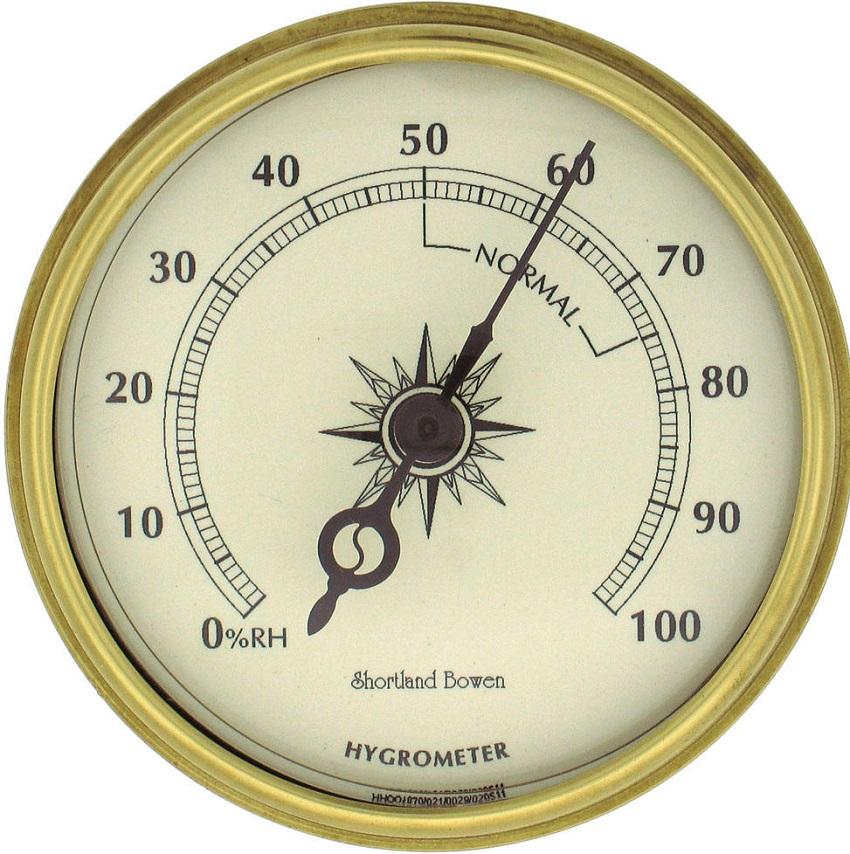 Гигрометр механического типа