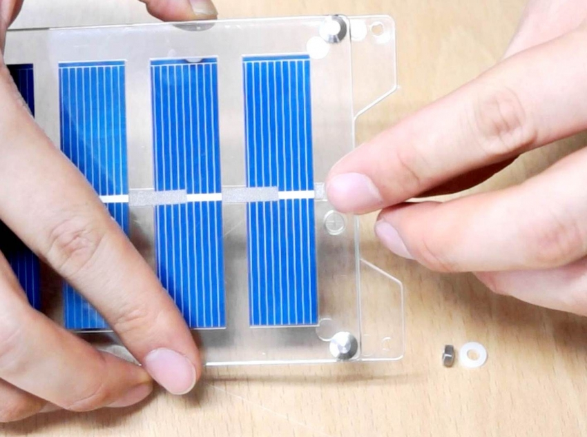 Солнечную батарею можно собрать из подручных материалов, но эффективность такой батареи будет не высока