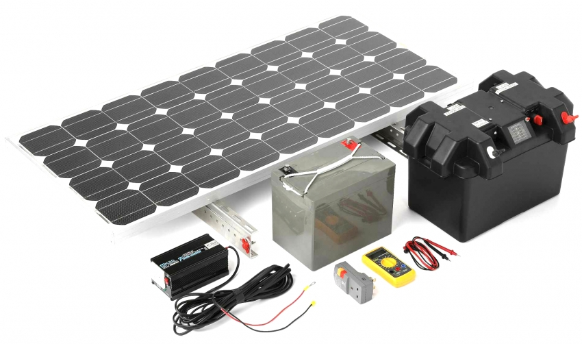 Составляющие солнечной станции