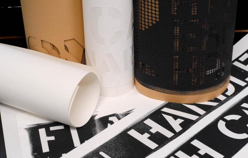 Для более точного нанесения тонких линий изображения лучше использовать самоклеющуюся пленку