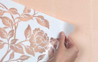 Трафареты для стен под покраску: креативный способ оформления интерьера