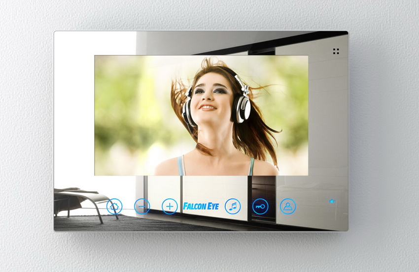 Видеодомофоны производства Falcon имеют цветной экран высокого разрешения