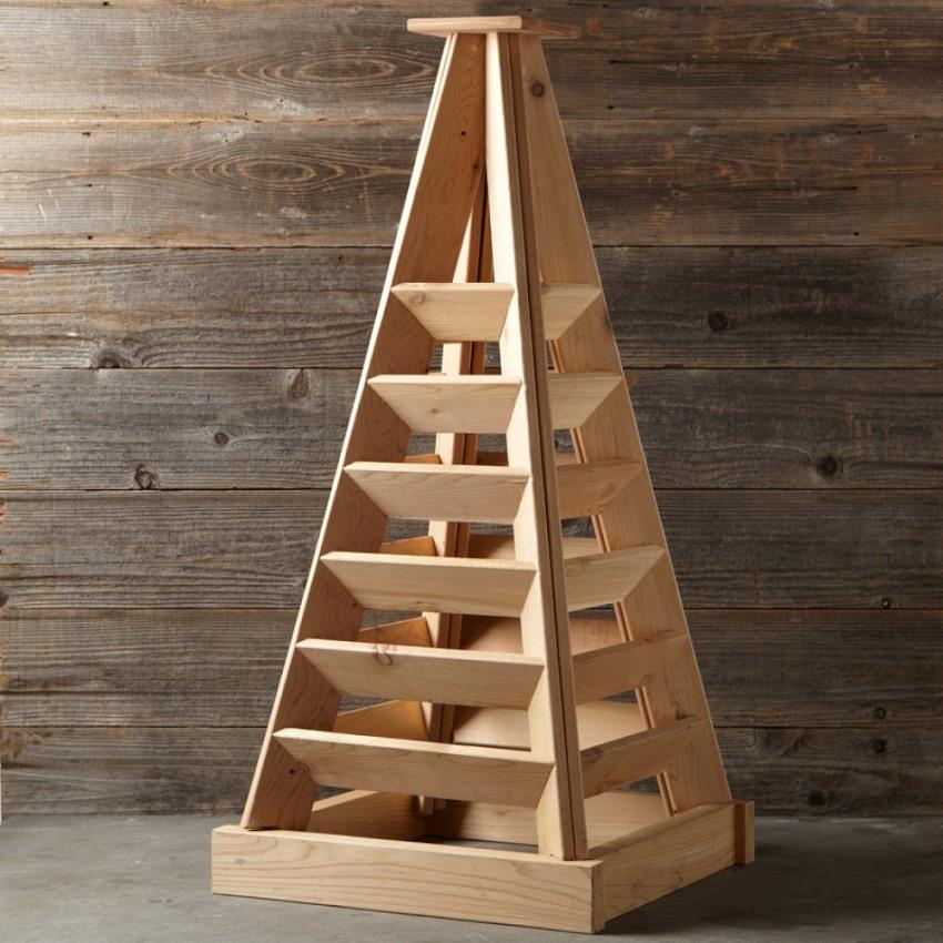 Вертикальная грядка — идеальное решение для небольшого приусадебного участка