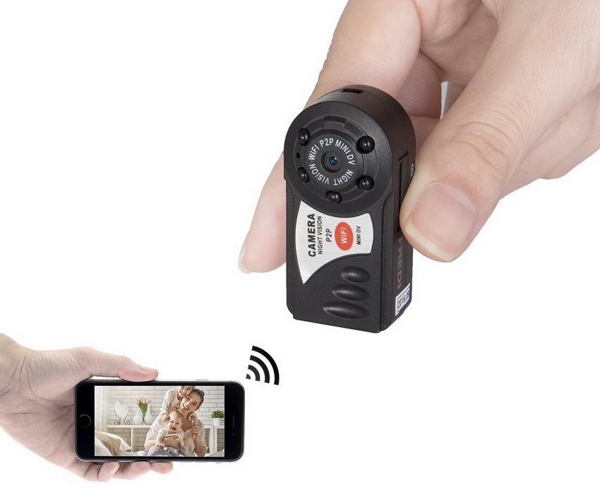 Скрытая мини камера в съемной квартире