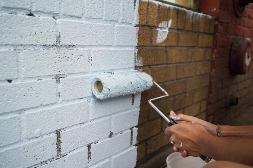 Чем покрасить кирпичную стену на балконе: балконы отделка ин.
