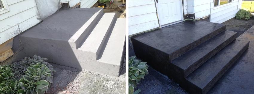 Красители по бетону для наружных работ от компании Tikkurila позволяют защитить поверхность от трещин, которые могут возникнуть в результате влияний влаги и перепадов температур