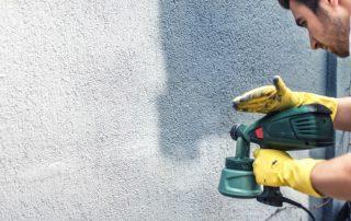 Износостойкая краска по бетону для наружных работ и ее применение