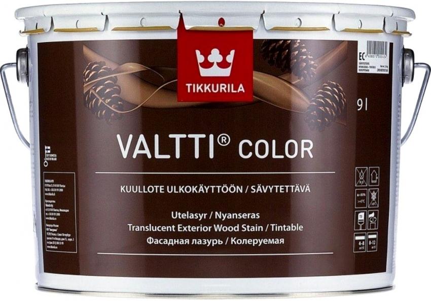 При правильном использовании, красители от компании Тиккурила могут иметь глянцевый, матовый, сатиновый и даже перламутровый блеск