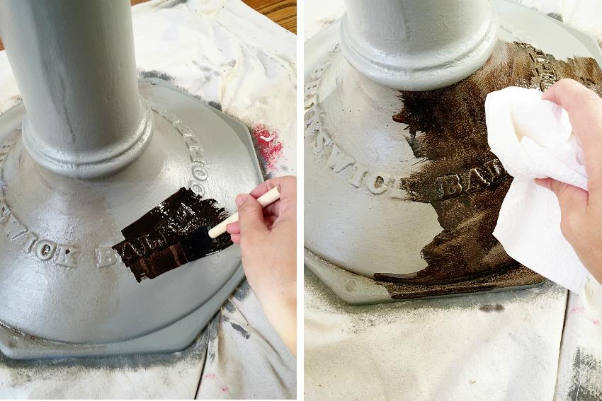 С помощью красок Нержамет, можно с легкостью декорировать металлические предметы интерьера, благодаря удобному нанесению состава