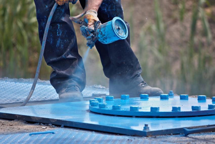 Среди преимуществ использования порошковой краски можно отметить экологичность и пожаробезопасность покрытия