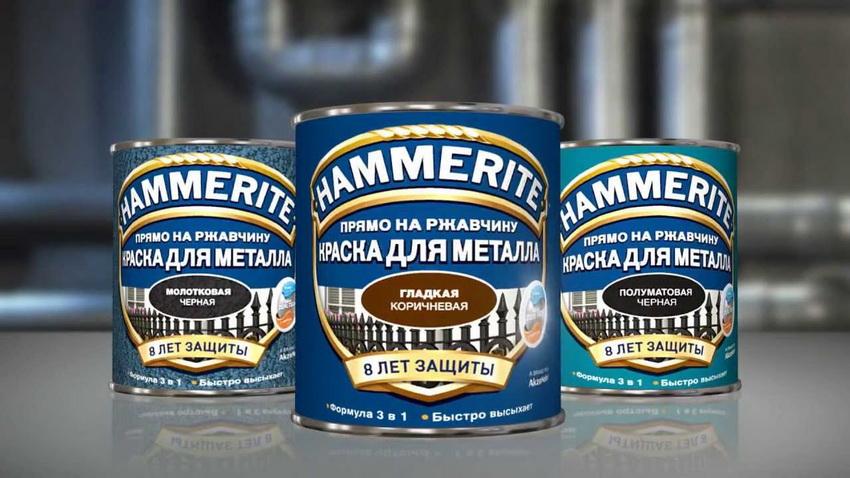 Краска по металлу Хаммерайт - одна из самых популярных на сегодняшний день
