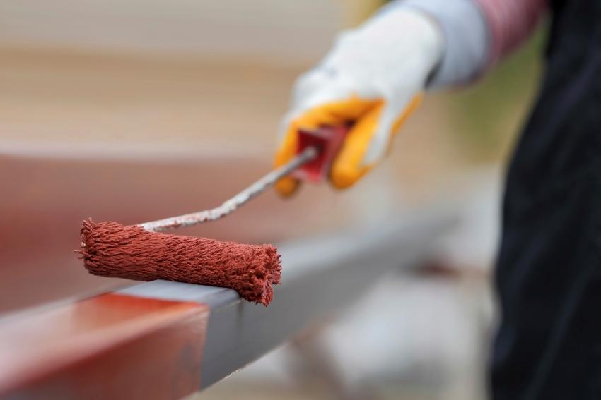 В некоторых случаях, молотковую краску необходимо наносить в несколько слоев