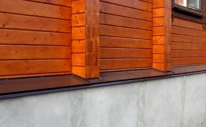 Отливы для цоколя можно соорудить самостоятельно или приобрести в строительном магазине
