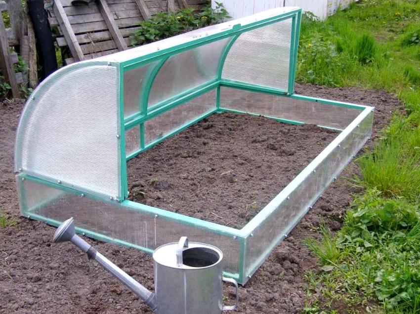 Поликарбонат можно использовать как для покрытия больших теплиц, так и для маленьких парников