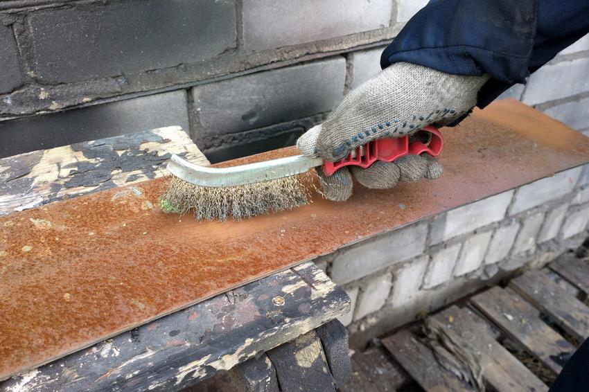 Термостойкая краска по металлу и сфера ее применения