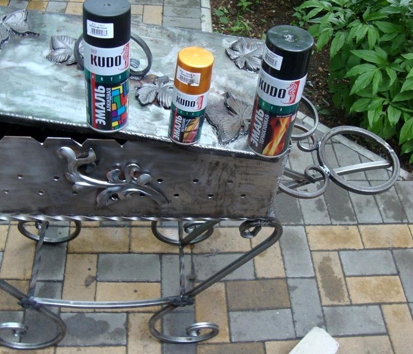 Чем удалить ржавчину с металла перед покраской в домашних условиях