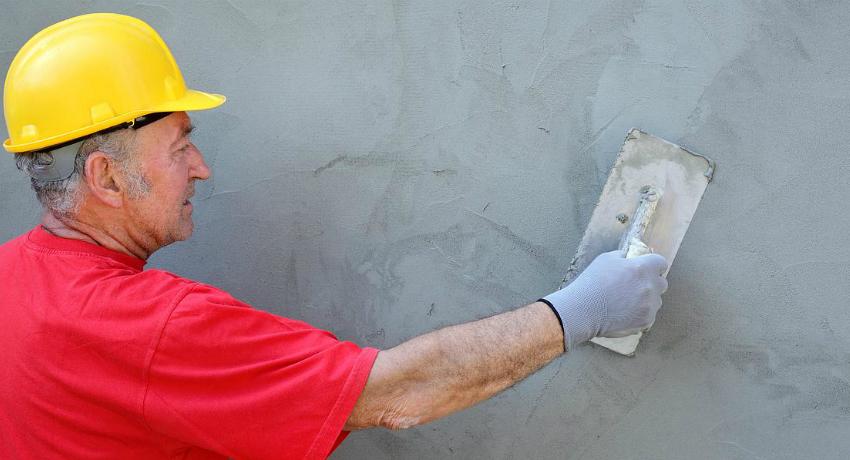 Цементная штукатурка для фасада образует прочное, негорючее покрытие с высоким уровнем теплоизоляционных свойств
