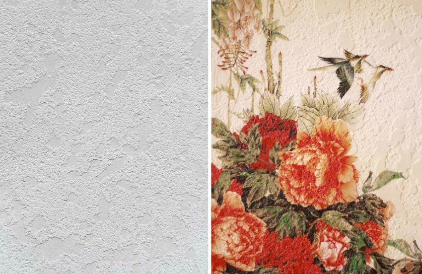 Фреска по штукатурке - один из самых доступных и элегантных способов отделки арок, стен или перегородок