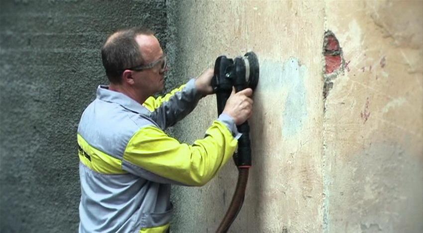 Подготовка стены к нанесению штукатурной смеси