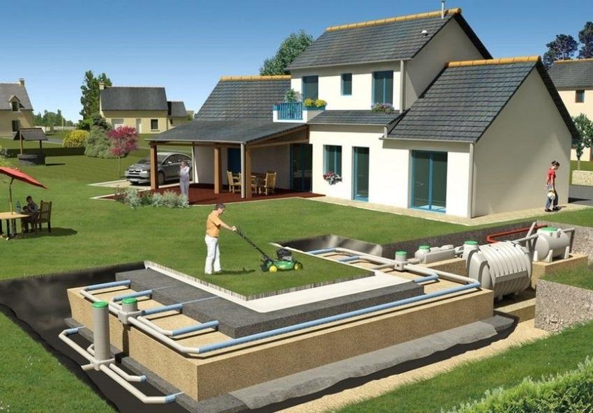 Установить канализацию в частном доме можно своими руками