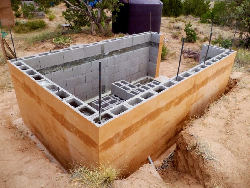 Тип фундамента выбирается исходя из местности и погодных условий данного региона, типа конструкции будущей бани и общего размера постройки