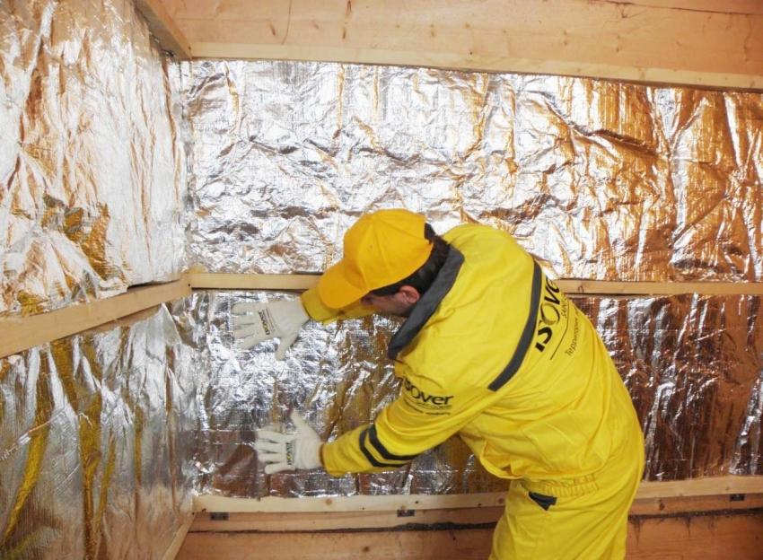 Бани, построенные из пеноблоков или газобетона требуют дополнительного слоя теплоизолятора