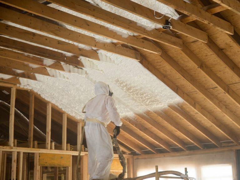 Утепление крыши мансарды пенопластом своими руками