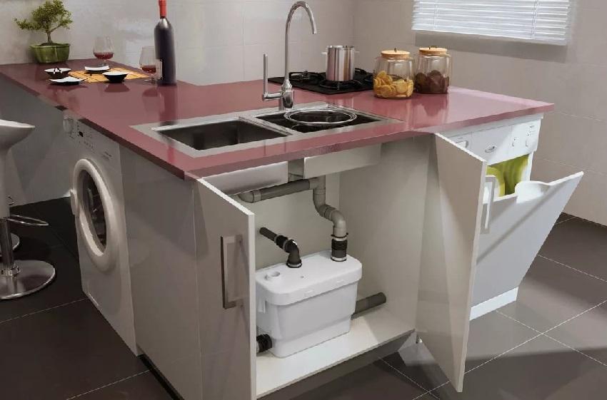 Насос для канализации для кухни