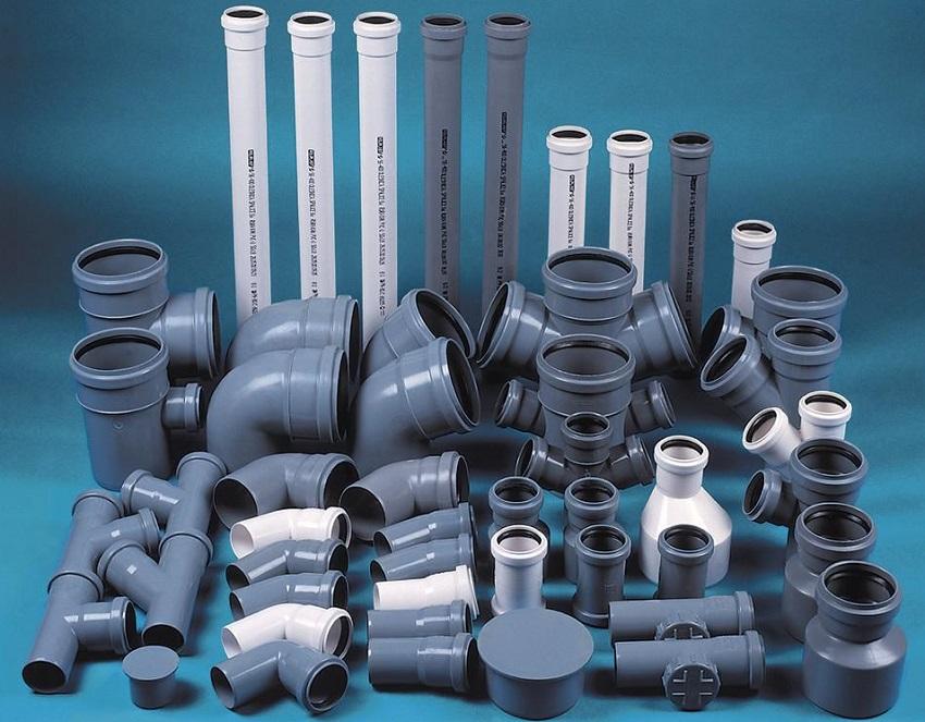 Полимерные трубы для внутренней канализации
