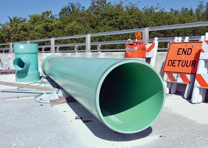 Для прокладки канализации в индустриальных зонах используются трубы с маркировкой SN 8