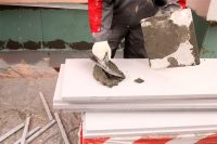 Утепление фундамента снаружи плитами пенопласта