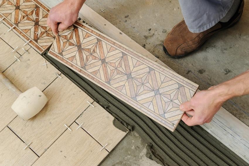 Перед укладкой плитки следует позаботится о качестве основания