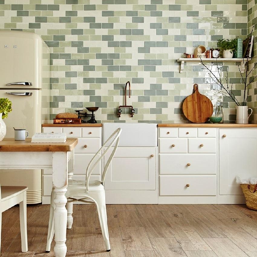 Интересное решение укладки керамической плитки