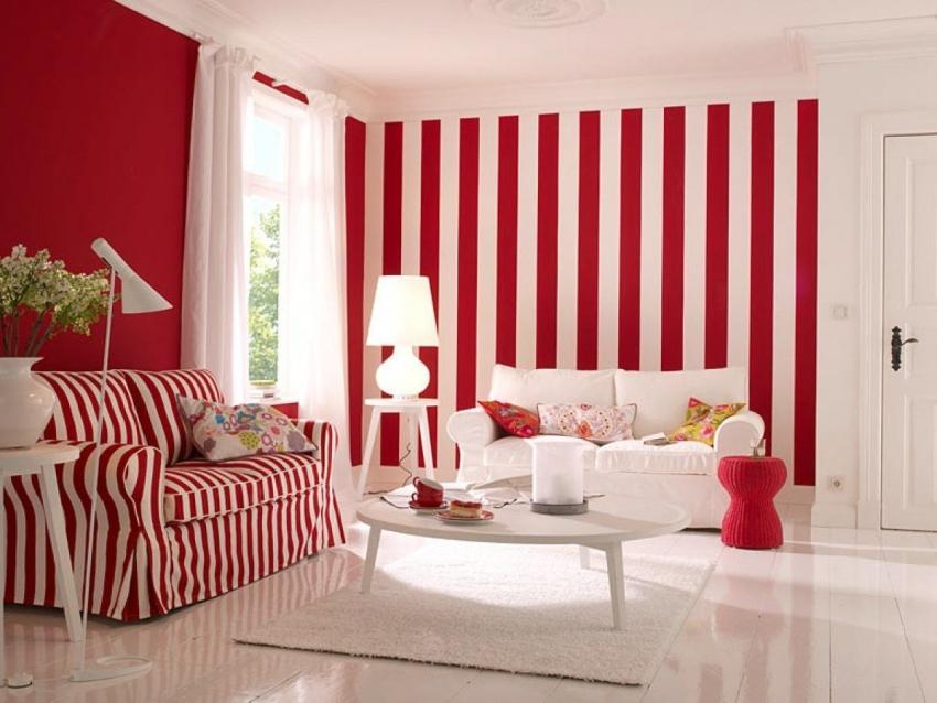 Важно учитывать, что использование красного цвета для оформления гостиной подходит не для каждого типа личности