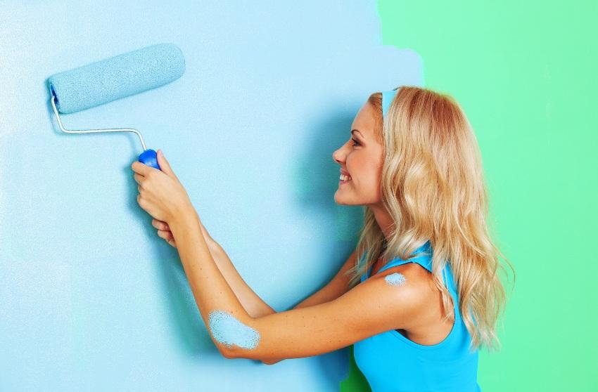 Каждый новый слой краски должен быть нанесен только после полного высыхания предыдущего