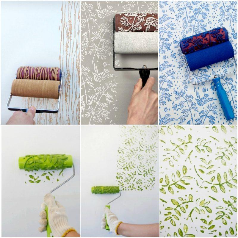 Как сделать валик для декоративной покраски своими руками 55
