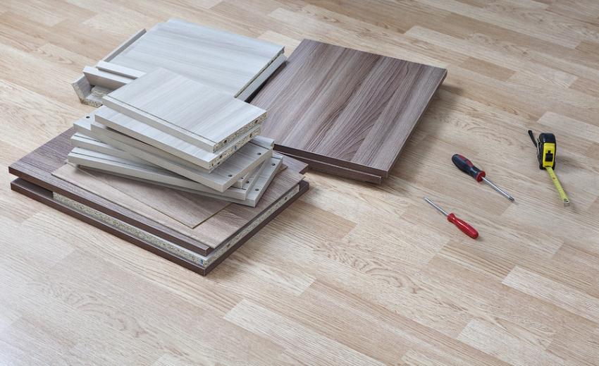 Наиболее популярными для производства мебели являются плиты толщиной 16 мм