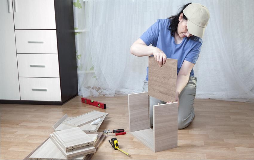 ДСП и ЛДСП широко применяются для производства мебели
