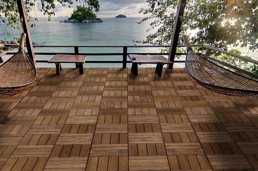 Матовая керамогранитная плитка – отличная имитация любой породы дерева
