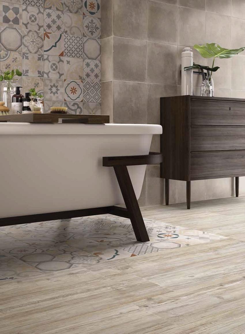 Плитка для ванной комнаты - материал доступный и легкий в монтаже
