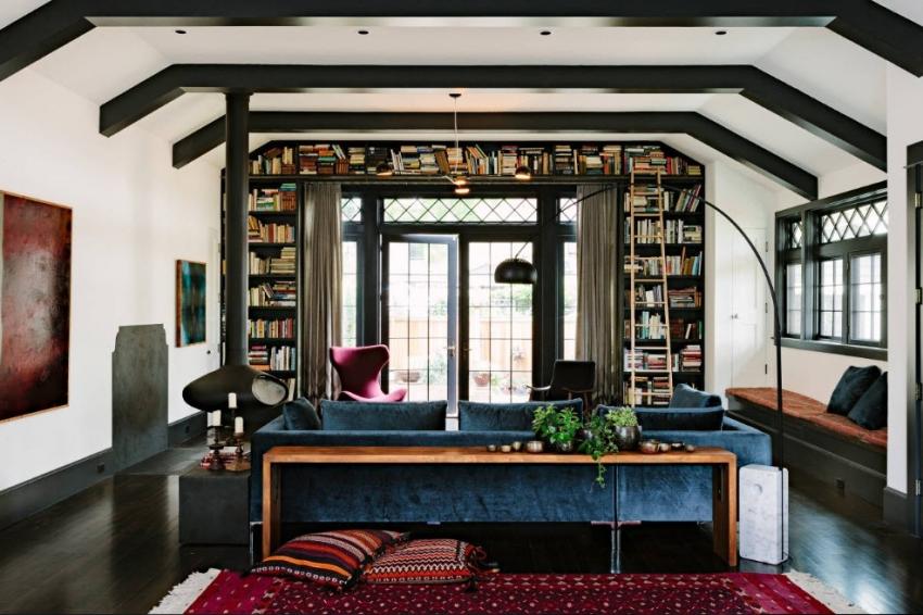 Из гипсокартона можно соорудить практически любую конструкцию, выгодно подчеркивая выбранный дизайн интерьера