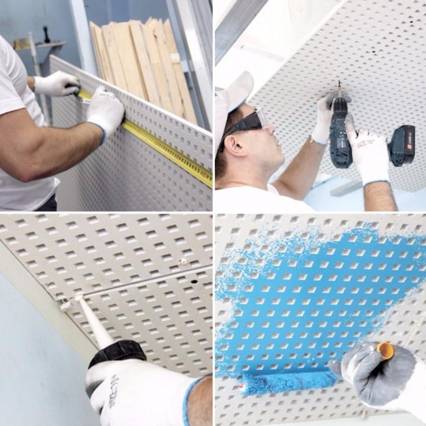 При креплении покрытия, необходимо обязательно армировать швы, иначе в течении нескольких лет могут появиться трещины