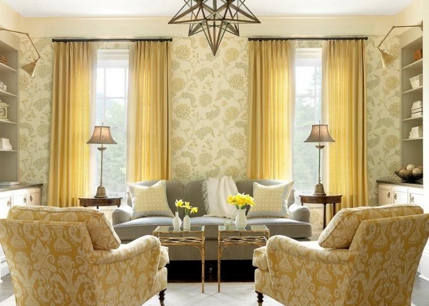 Пример красивого оформления помещения в одной цветовой гамме