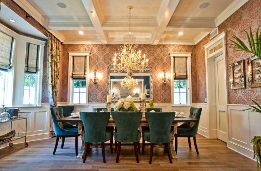 Wallpaper ideas dining room
