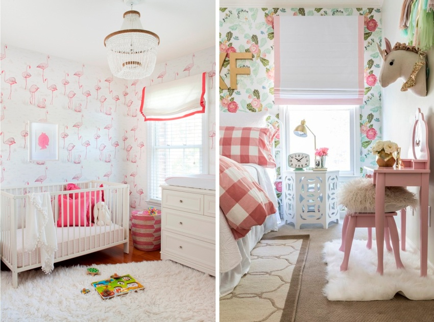 Примеры использования обоев в детских комнатах