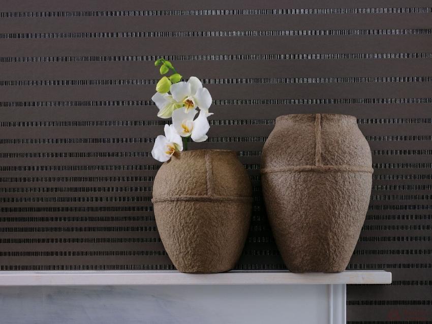 Плотные виниловые обои помогут замаскировать все погрешности на поверхности стен